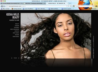 Keisha Willis Website Home Page